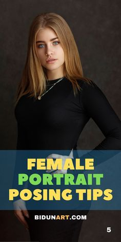 Top posing tips to improve your female portrait photography. Learn the skill of posing with this technical and visual guide for better women portraits. Portrait Photography Tips, Photography Articles, Portrait Poses, Glamour Photography, Photography Women, Female Portrait, Portrait Ideas, Learn Photography, Photography Business