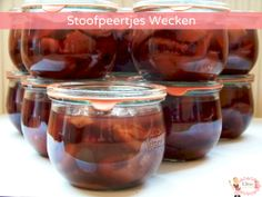Stoofperen wecken Tasty, Yummy Food, Canning Recipes, Meals For One, Chutney, Preserves, Pickles, Cooking Tips, Frozen