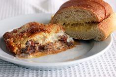 Taste and Tell   Zesty Italian Crescent Casserole  - Comfort food!