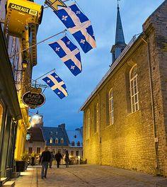 Rue Notre-Dame, Petit-Champlain // Notre-Dame Street, Petit-Champlain District…