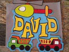 cartel goma eva Foam Crafts, Diy Crafts, Name Plaques, Have Fun, Banner, Names, Baby Shower, Wall Art, Kids
