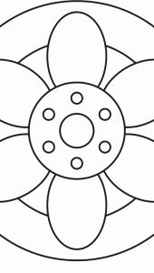 Flower Mandala Design 30 > Flower Mandalas | 마음놀이터 - 마음 그리고 성찰