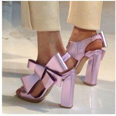 #delpozo #shoes. #nyfw  http://misqueridasfashionistas.blogspot.com.es/