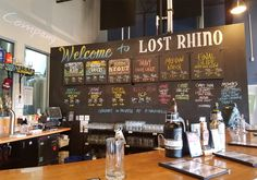 Great craft beers and tasty bar food in a laid back Tasting Room in Ashburn, Va. See why we love Lost Rhino Brewing Co. here: http://vawines360.com/portfolio-item/visit-lost-rhino-brewing-company/