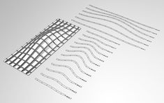 Waffle Structural System: Using Grasshopper to Output Structural Ribs to a Laser Cutter or CNC Mill - LIFT architects - Home - [Andrew Payne]