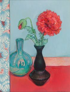 Poppies with Venetian Silks