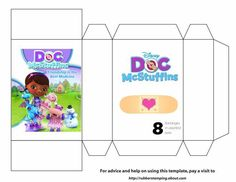 Doc bandage box template - Download - 4shared