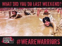1 week until Chicago Warrior Dash!! Can't wait :)