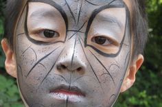 Face Paint Designs for Boys   Tiger Faces, Monsters, Robots by Budding Stars Professional Face Painters   Surrey M25 (Tadworth, Kingswood, Redhill, Reigate, Guildford)