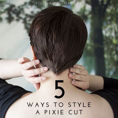 Five ways to style a pixie cut