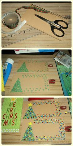 DIY christmas card :)