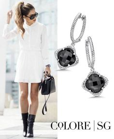 Fashion Inspiration: Classic Color Combo with Black & White!