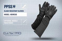 PPSS #SlashResistantGloves (Nemesis) with optional #needleresistance