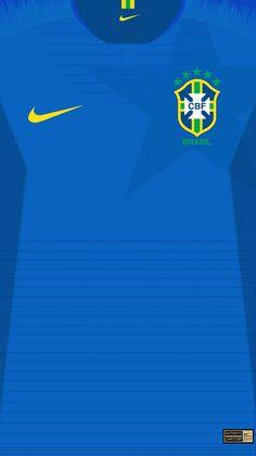 Segunda Camisa seleção Brasileira