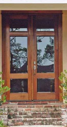 Light Trio - Clark Hall Doors offers elegant hardwood and wrought iron entries and interior doors.