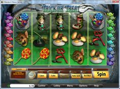 15 Free Slot Spins on Trick or Treat Video Slot