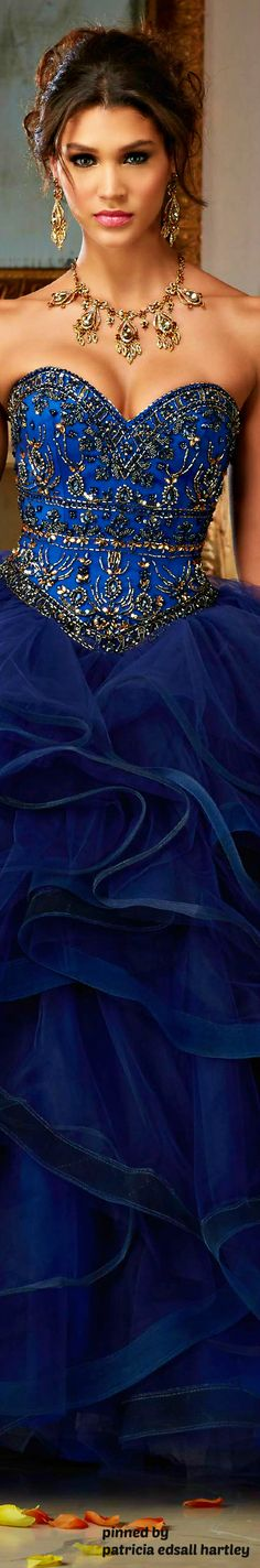 Beautiful Royal blue dress!