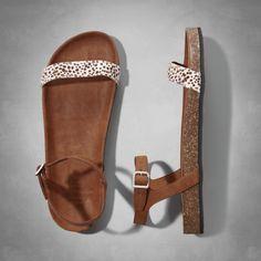 Womens Slingback Sandal | Womens Spring Style Guide | Abercrombie.com