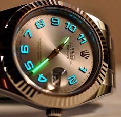 Rolex Luminova Oyster Perpetual Datejust    http://geekxlovin.wordpress.com/