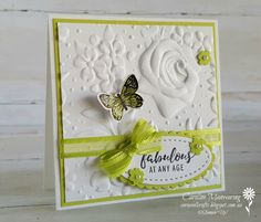 "3"" x 3"" note card using Sale-a-bration products from Stampin' Up!"