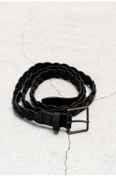 Braided Belt Nero | $154.00