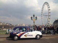 Thai Airways Taxi Advertising in London http://www.londontaxiadvertising.com/news/thai-airways-taxi-advertising/2311/