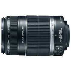 Canon EF-S 55-250mm f/4-5.6 IS Optical Image Stabilizer Telephoto Zoom Lens (2044B0020)