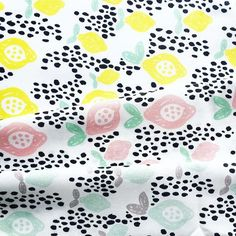 When life gives you lemons you make some pretty spring fabric! Any love for these? I might add some extra colors. http://www.spoonflower.com/profiles/littlesmilemakers #lemon #lemons #fabric #fabricshop #spoonflower #stoffe #stof #textile #summerfabric #surfacedesign #fashion #illustratie #illustration #surfacedesign #surfacepattern #fruit #print #paper #design #littlesmilemakers