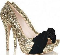 Shiny and black  -  heels  #heels #high heel shoes