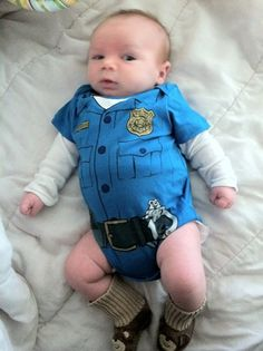 Cute little cop!