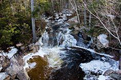 Go Waterfalls New Brunswick: Clarendon Brook Falls