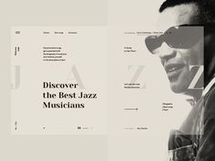 Jazz—website concept