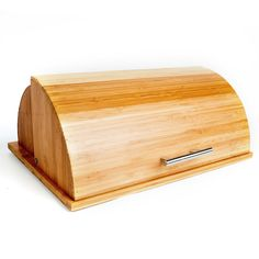 Bamboo Breadbox with Built-in Cutting Board - Overstock Shopping - Big Discounts on Counter Accessories