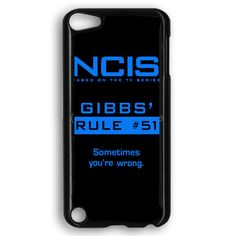 Ncis Gibbs Rule iPod Touch 5 Case
