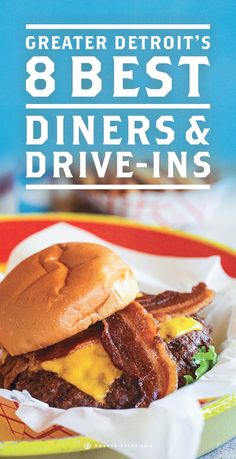 Eat at an old fashioned diner on your travels in Detroit, Michigan. **The Chick-Inn & Bill's Hot Dog both made this list!! LOL**