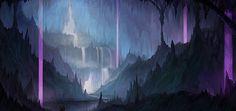 Ice Cavern by yagaminoue on DeviantArt