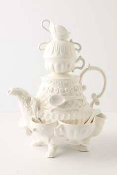 Stanhope Teapot #anthropologie