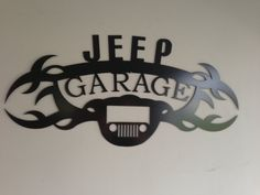 Jeep GARAGE SIGN by SCHROCKMETALFX on Etsy, $30.00