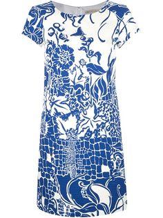 OR THIS MINE!!!Emilio Pucci Print T-Shirt Dress
