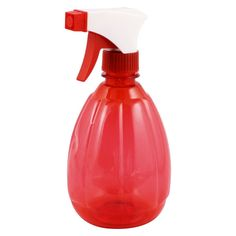 uxcell 500ml Plastic Trigger Hairdressing Watering Spray Bottle Clear Red -- You can get additional details at the image link. #hairandmakeup