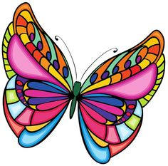 Drawings of butterflies - How to draw a butterfly - Leanna Toothaker Quilling Butterfly, Butterfly Clip Art, Butterfly Drawing, Rainbow Butterfly, Butterfly Pictures, Glass Butterfly, Butterfly Painting, Butterfly Wallpaper, Butterflies
