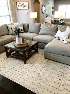 Living Room Redo, Cozy Living Rooms, Living Room Modern, Home Living Room, Living Room Designs, Table For Living Room, Living Room Layouts, Living Room Upgrades, Small Living Room Design