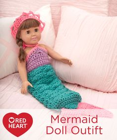 Mermaid Doll Outfit