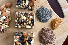 Homemade Kind Bars from Life in Iowa. Easily customizable and packed full of nutritious nuts and seeds! :)