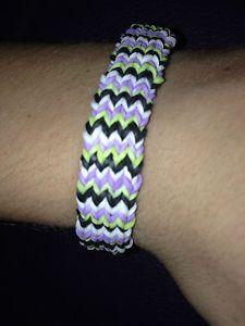 Rainbow Loom Rubber Band Bracelet Customized Octofish Design