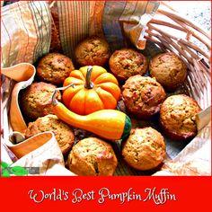 Pumpkin Muffins  by Spinach Tiger
