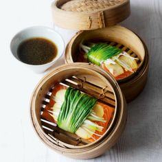 Steamed pak choi and ginger-wrapped salmon recipe - Woman And Home