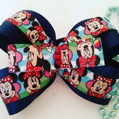 Mini Maus,Disney hair bow,disney cospley carnaval de MarinesCreacion en Etsy