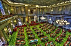 The California Assembly. 80 members elected to terms California State Capitol, Going To California, Places In California, Sacramento California, Northern California, House Of Commons, Central Valley, Historical Landmarks