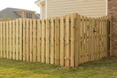 Bilderesultat for how to build a shadow box fence gate